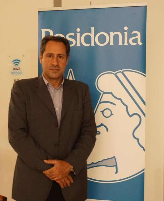 Theodore Vokos, Executive Director, Posidonia Exhibitions S.A. Photo by GTP