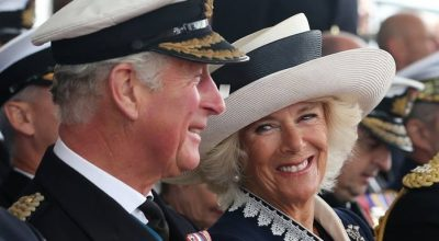 Prince of Wales, Charles, accompanied by his wife, the Duchess of Cornwall, Camilla Parker Bowles. Photo Source: @The Royal Family