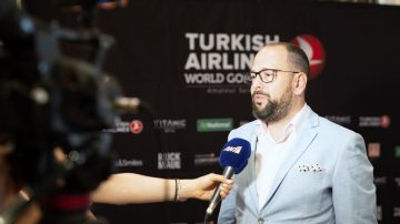 Alp Yavuzeser, general manager for Turkish Airlines in Athens.