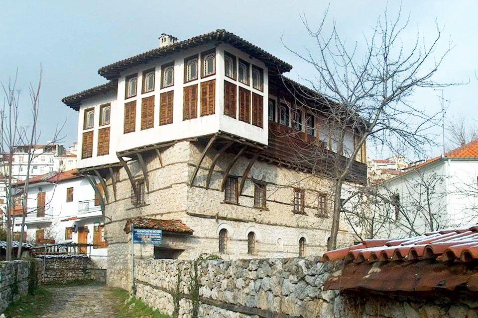 The Emmanouel Brothers' mansion. Regional Division of Kastoria.