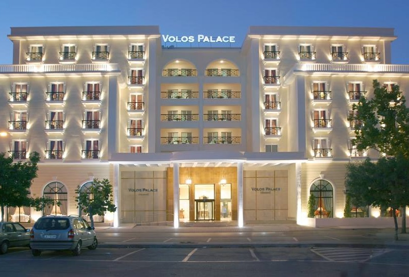 The Volos Palace Hotel.