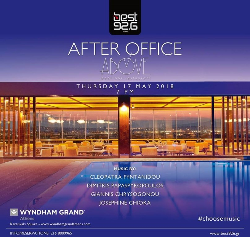 Wyndham Grand Athens to Throw 'BEST After Office' Party