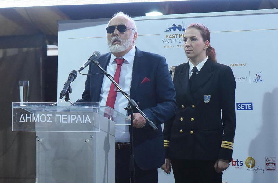 Shipping Minister Panagiotis Kouroublis.