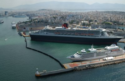 Ships in Piraeus Port