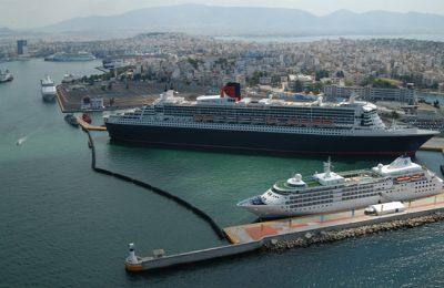 Ships in Piraeus Port