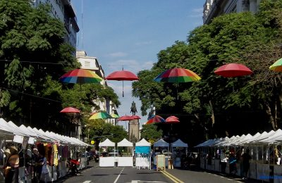 Sunday market in Buenos Aires.