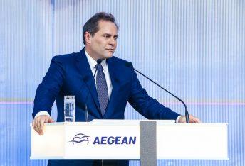 AEGEAN Chairman Eftichios Vassilakis