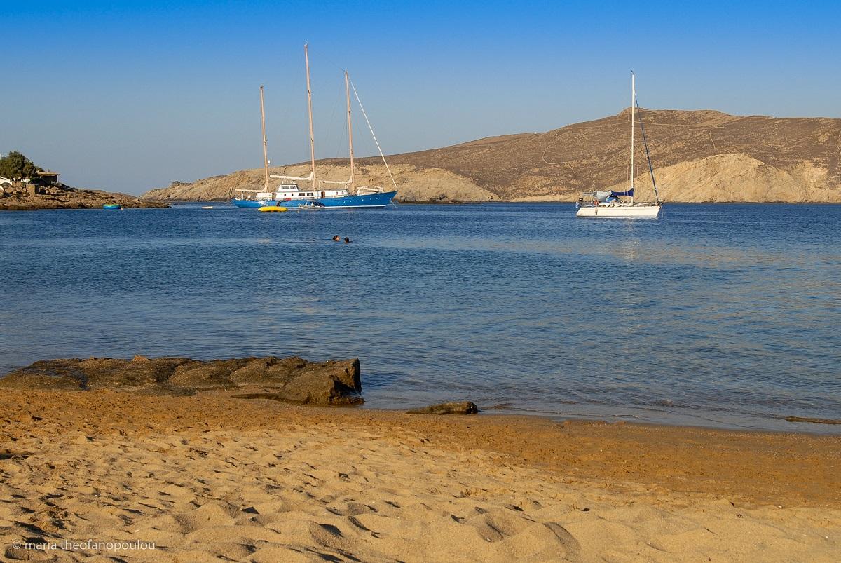 Agios Sostis beach, Mykonos © Maria Theofanopoulou