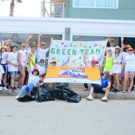 The Creta Maris team of volunteers