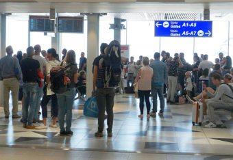 Heraklio Airport. Photo: GTP