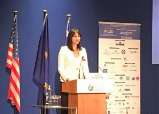 Greek Tourism Minister Elena Kountoura. Photo source: Tourism Ministry.