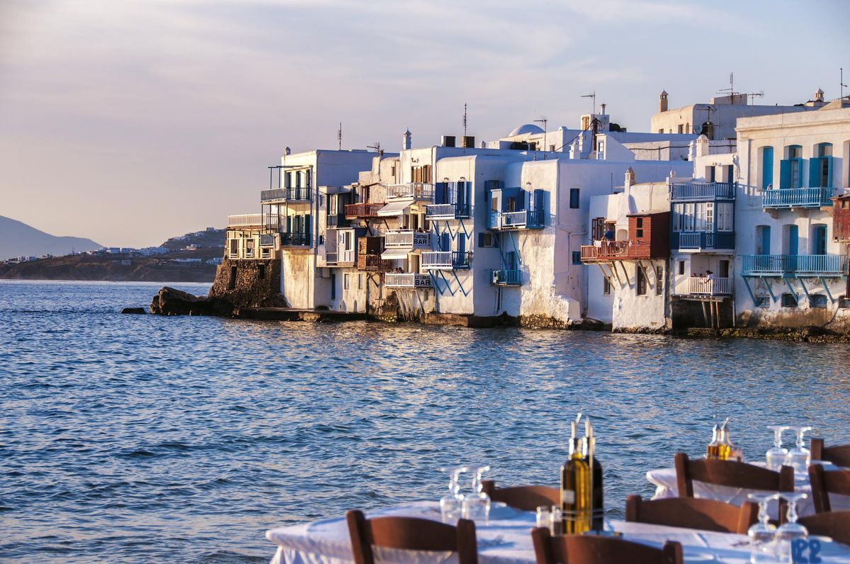Mykonos island. Photo Source: Bloomberg/Lizy Manola