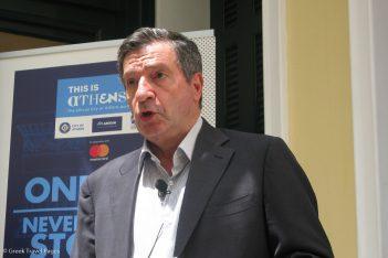 Athens Mayor Giorgos Kaminis. Photo © GTP