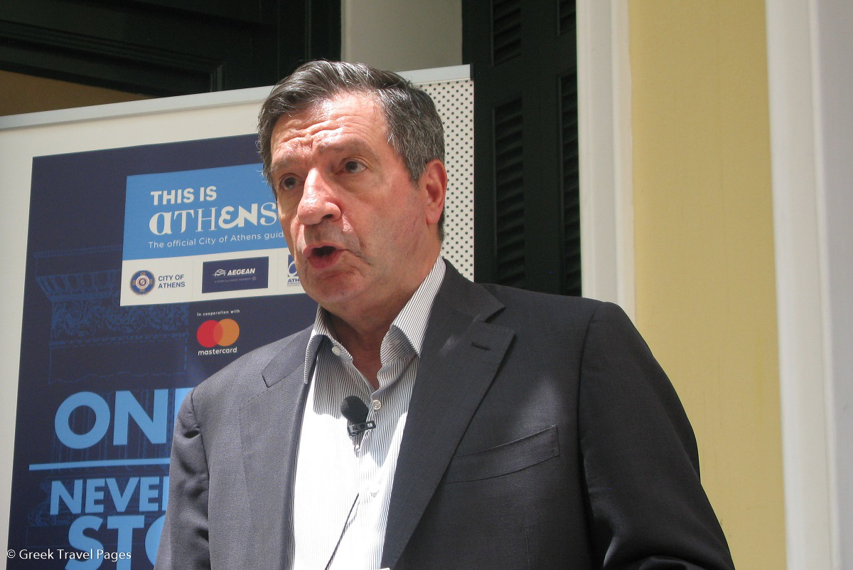 Athens Mayor Giorgos Kaminis. Photo © GTP