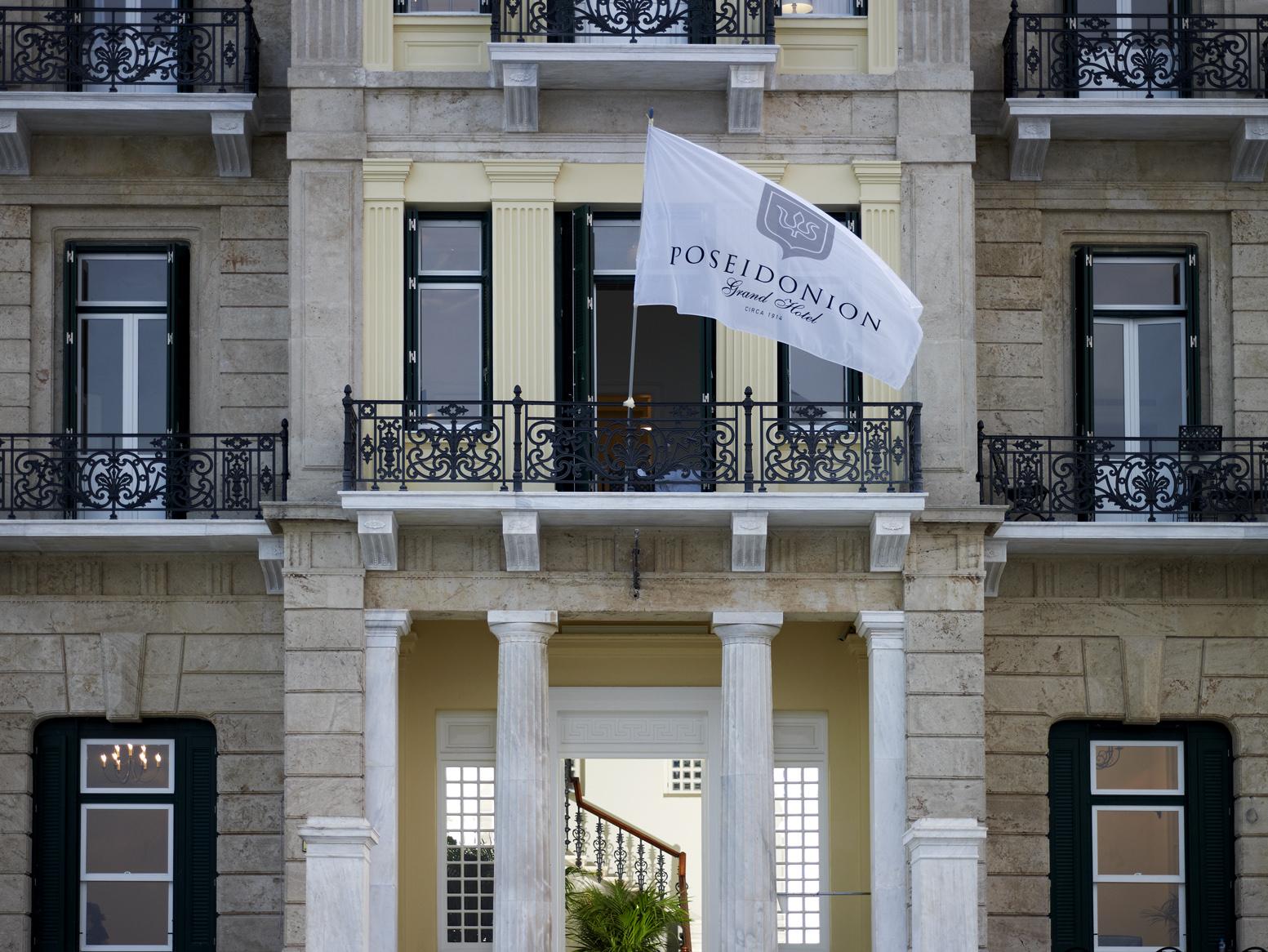 The Poseidon Grand Hotel on Spetses.