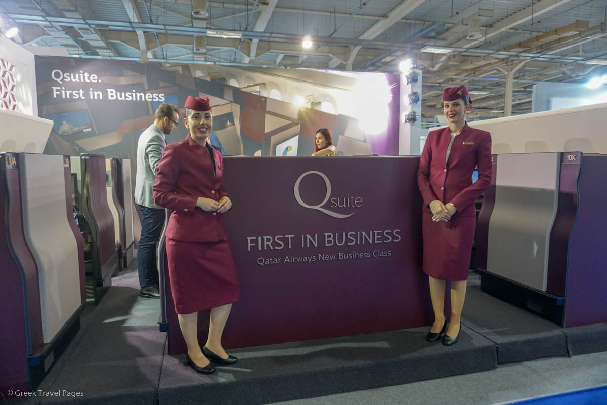 Exhibition Stand Tenders : Qatar airways joins posidonia 2018 exhibition as official airline