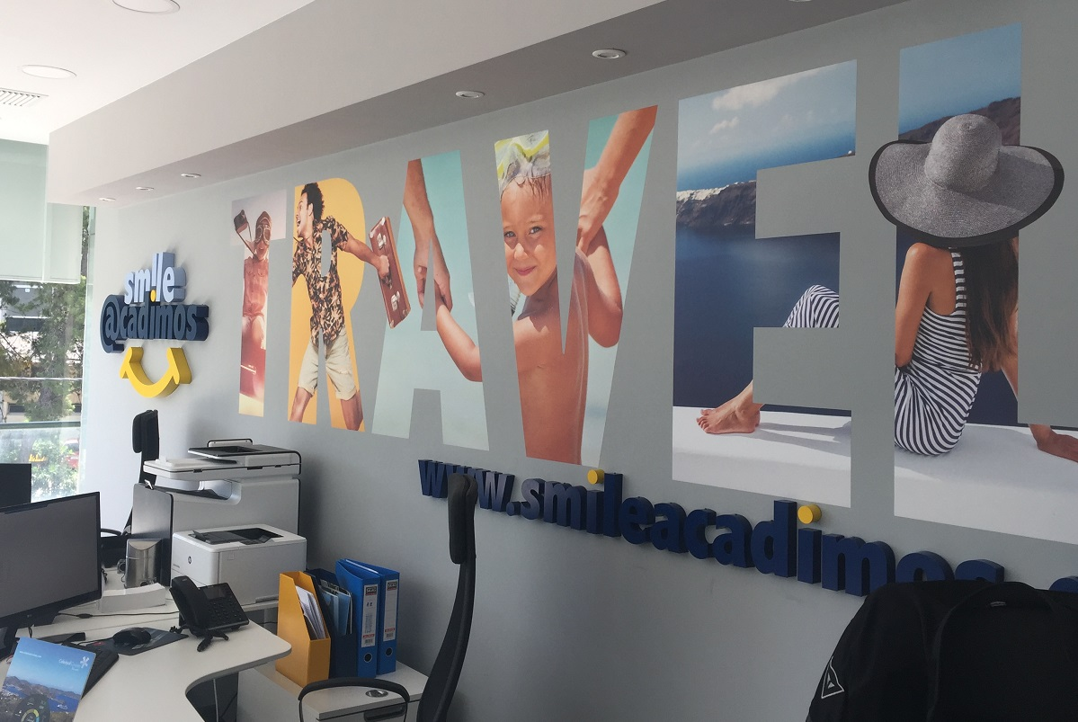 The new office of Smile Acadimos in Glyfada.