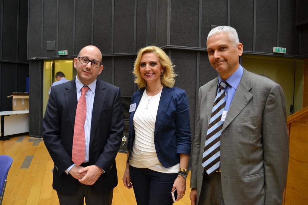 (από αριστερά) κ. Παπάζογλου, Fraport, κα Καφετζή-Ραυτοπούλου, Φωκίων Ζαΐμης | πηγή: iForce Επικοινωνίες Α.Ε.