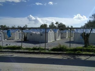 Refugee camp on the island of Lesvos. Photo source: Pixabay