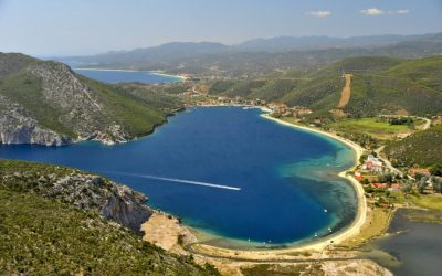Porto Koufo village in Halkidiki. Photo Source: Halkidiki Tourism Organization