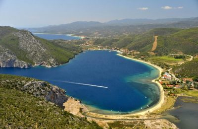 Porto Koufo village in Halkidiki. Photo Source: Halkidiki Tourism Organization