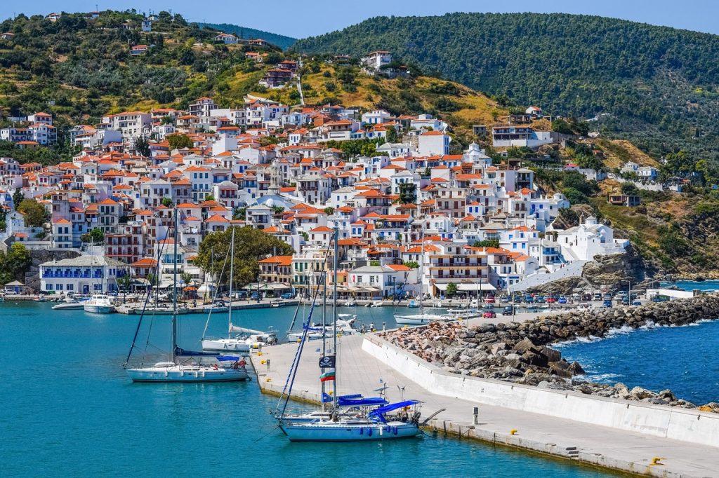 Skopelos Island, Greece. Photo source: Pixabay