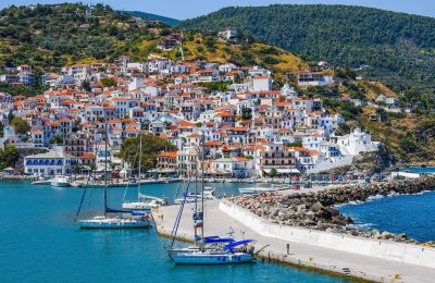 Skopelos Island, Greece. Photo source: Pixabay