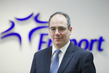 Fraport Greece Executive Director of Commercial and Business Development George Vilos.