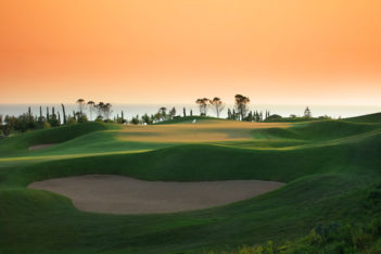 The Dunes Course at Costa Navarino.