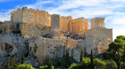 pixabay The Acropolis in Athens, has been named Europe's Leading Tourist Attraction for 2018, during the 25th World Travel Awards Europe Gala Ceremony.