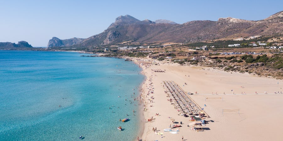 Falassarna, Crete. Photo Source: beach-inspector.com