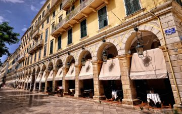 With origins dating back to the 8th century BC, the Old Town of Corfu is a perfect example of ancient Venetian and Byzantine art.