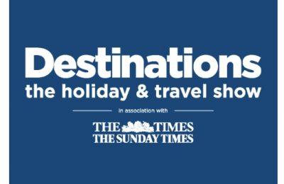 Destinations Holiday Show logo