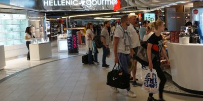 Heraklion Airport. Photo: GTP