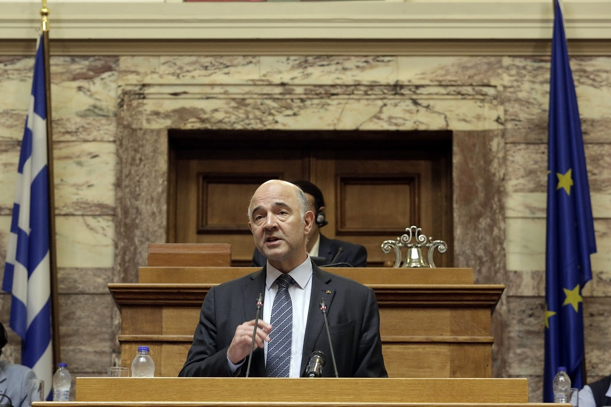 European Commissioner for Economic and Financial Affairs Pierre Moscovici. Photo Source: @ Pierre Moscovici
