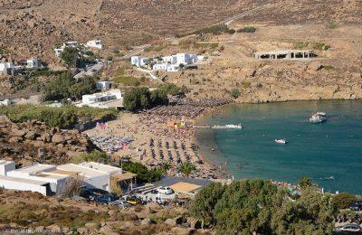 Super Paradise beach, Mykonos. Photo: Maria Theofanopoulou