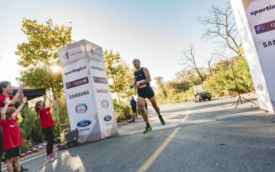 Unique running routes at Navarino Challenge 2018. Photo by Mike Tsolis