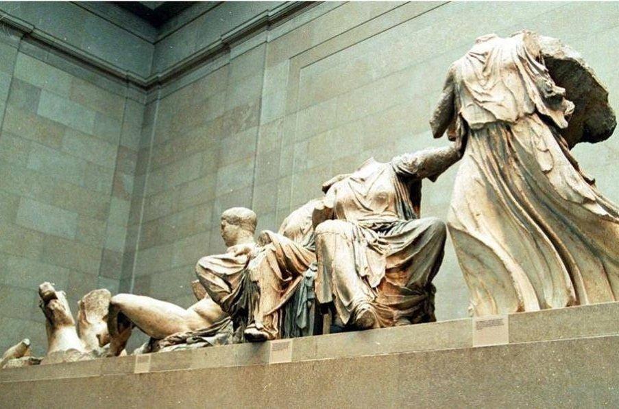 Photo Source: @Return Parthenon Marbles Protest (Petros Papadopoulos)
