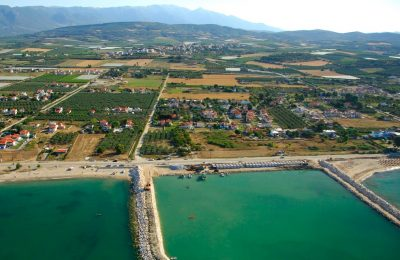 The port of Kariani in the Municipality of Paggaio. Photo Source: Municipality of Paggaio