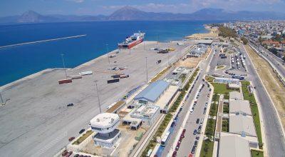 Patra, port