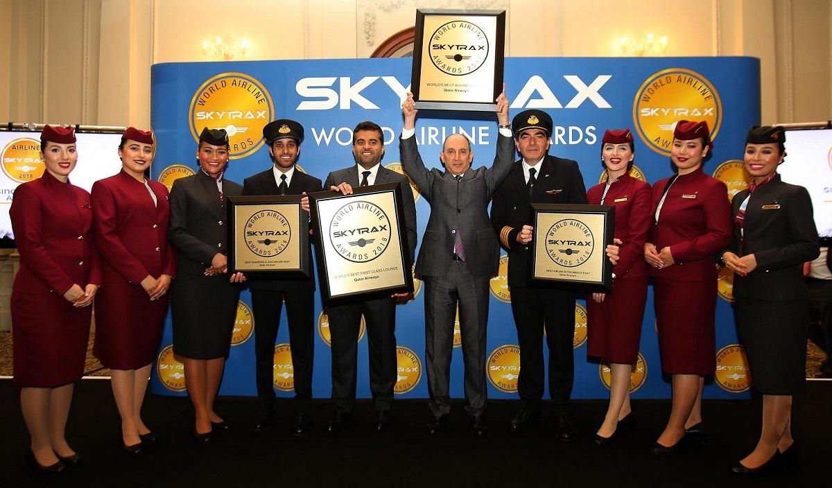Qatar Airways Wins Four 2018 Skytrax Awards   GTP Headlines