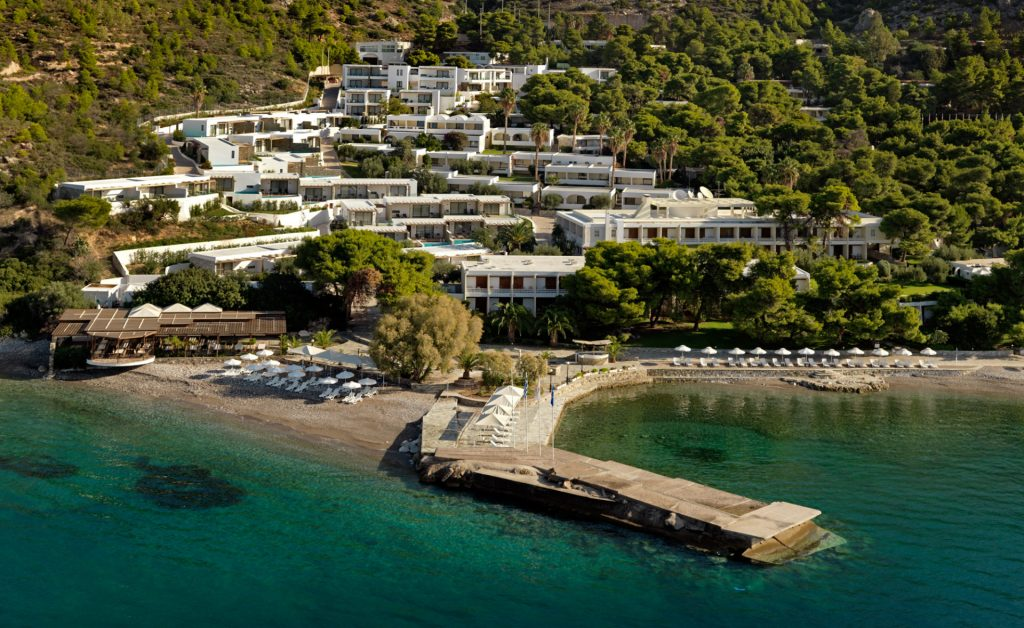 Wyndham Loutraki Poseidon and the Ramada Loutraki Poseidon resorts.