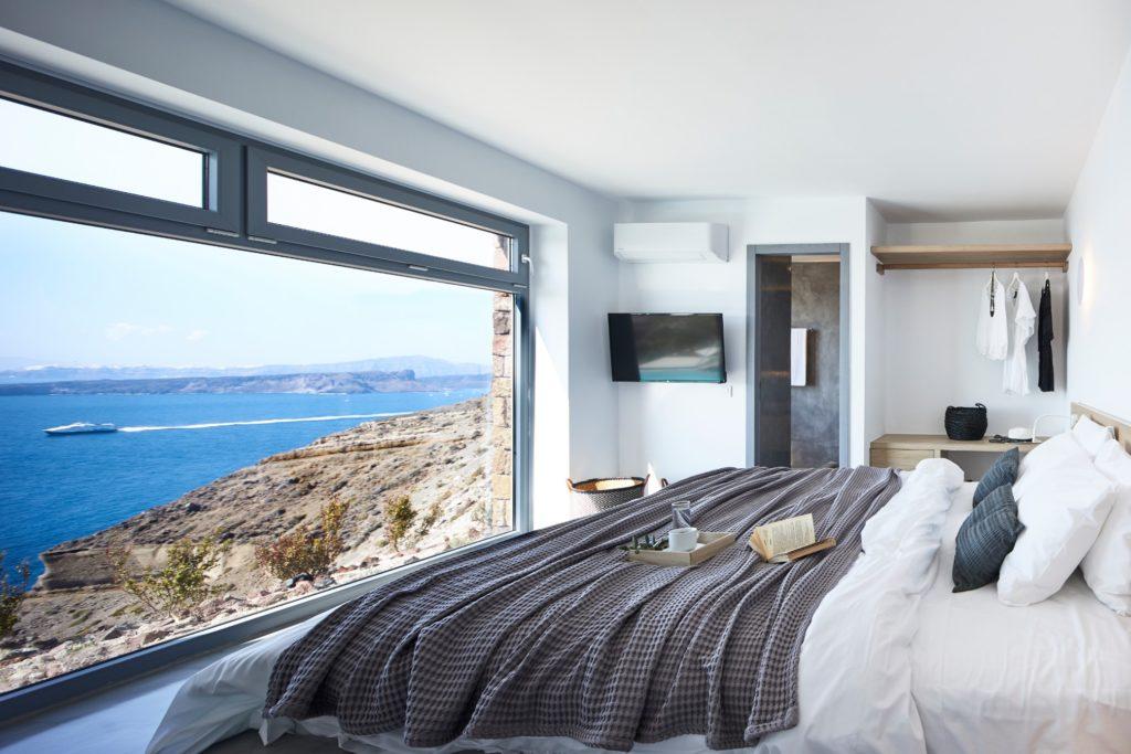 Red Rocks Villas, Akrotiri, Santorini. Photo source: Aqua Vista Hotels