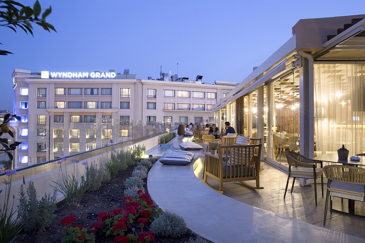 First 39 wyndham residence 39 opens in athens greece gtp for The wyndham