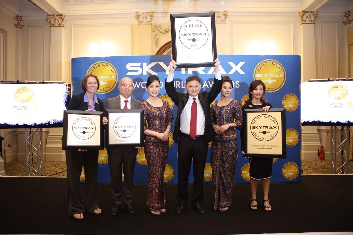 Singapore Airlines Named 'World's Best Airline' at Skytrax Awards