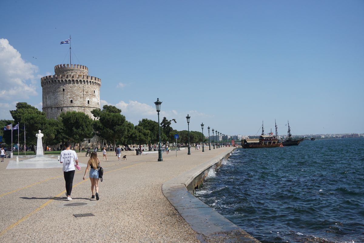 Thessaloniki, northern Greece. Photo by Greek Travel Pages (GTP)