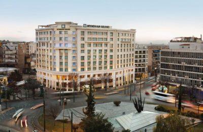 Wyndham Grand Athens Exterior