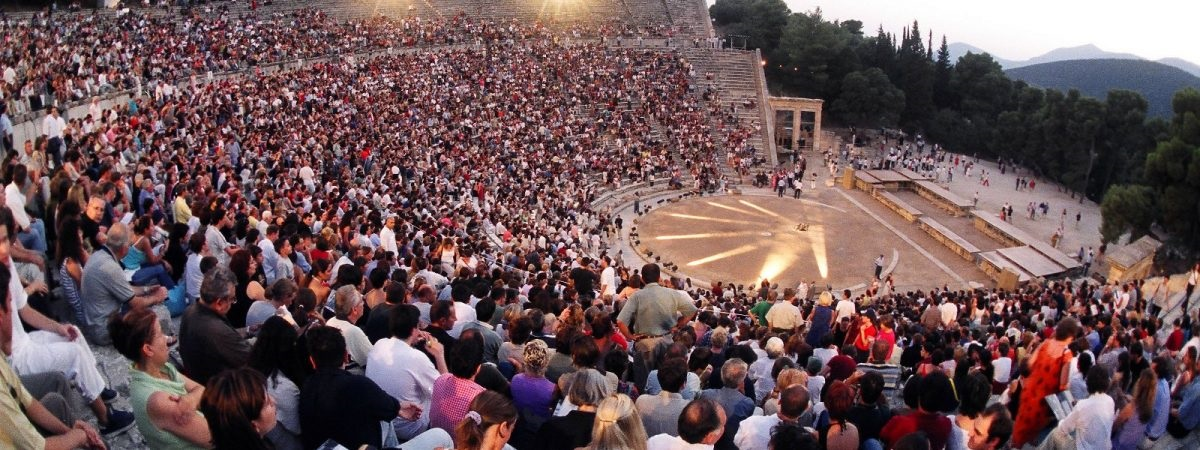 Ancient theater of Epidaurus. Photo Source: Athens & Epidaurus Festival