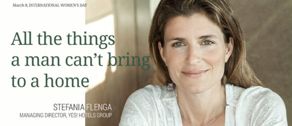 Stefania Flenga. YES! Hotels Group Managing Director