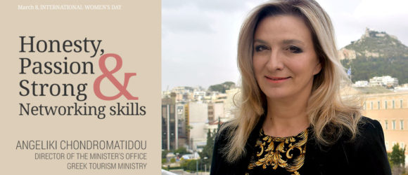 ANGELIKI CHONDROMATIDOU, Director of the Minister's Office, Vice President of the GNTO